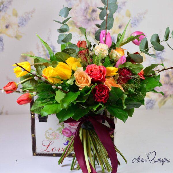 Buchete si aranjamente florale online cu livrare in aceeasi zi in Bucuresti si Ilfov.